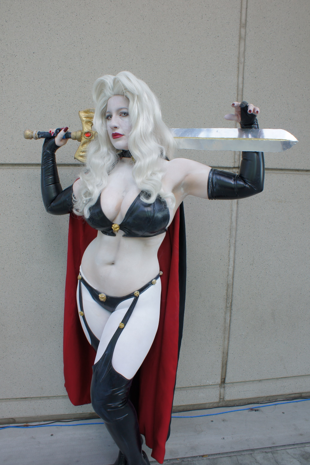 Lady death cosplay xxx porno scene