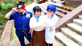 Free! - Iwatobi Swim Club photographed by Lionboogy