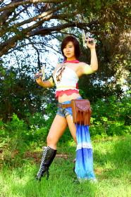 Final Fantasy X-2 photographed by Lionboogy