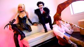 Photoshoot of Death Note by Lionboogy