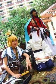 Photoshoot of Touken Ranbu by Lionboogy