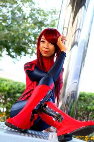 Photoshoot of Spider-man by Lionboogy