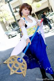 Photoshoot of Final Fantasy X by BlizzardTerrak
