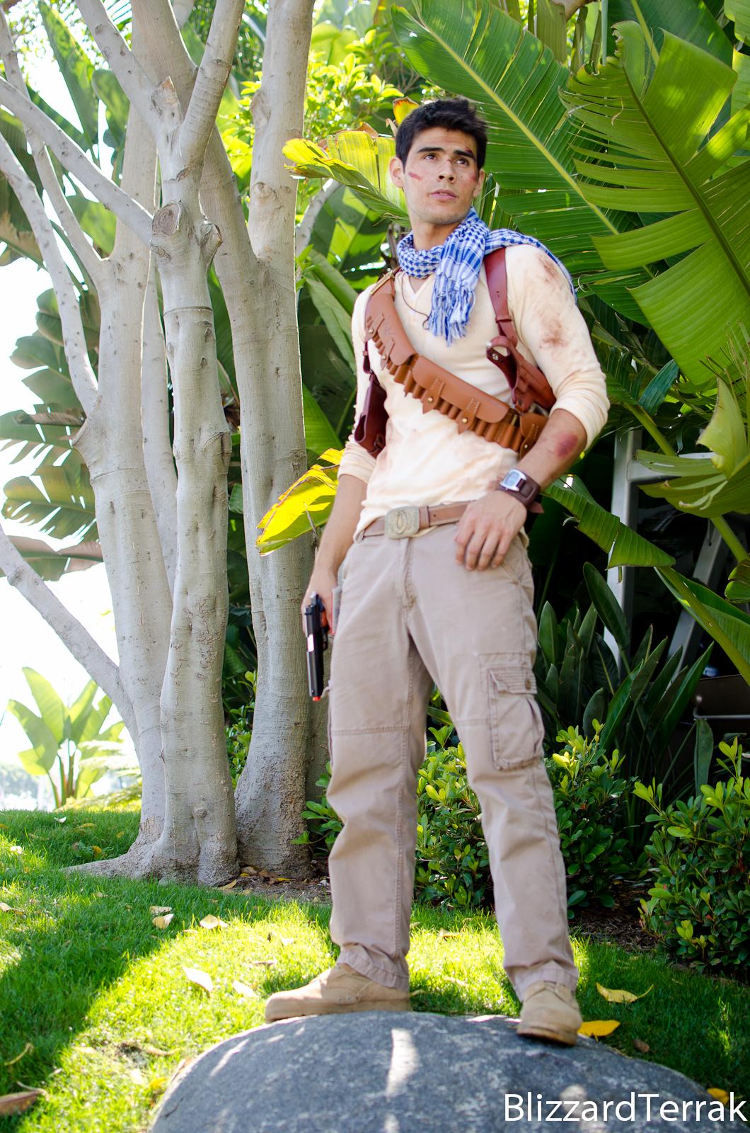 Nathan Drake Cosplay Uncharted 3