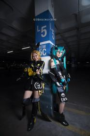 Photoshoot of Vocaloid by Hexlord