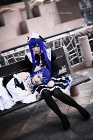 Vocaloid photographed by Hexlord