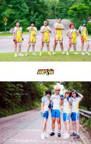 Photoshoot of Yowamushi Pedal by Hexlord
