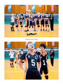 Photoshoot of Haikyuu!! by Hexlord