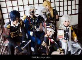 Touken Ranbu photographed by Hexlord