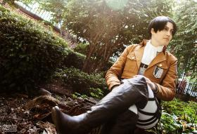 Attack on Titan photographed by sorairo-days