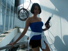 Photoshoot of Resident Evil 3: Nemesis by Blossom-Moon