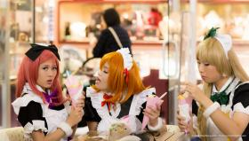 Love Live! photographed by Moshi