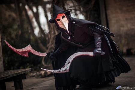 Photoshoot of Bloodborne by Angelwing